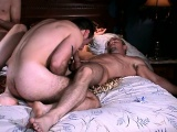 Horny hunk Willie sucks cocks and gets his ass fucked in an all-male orgy