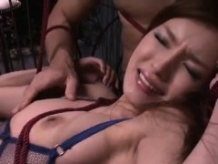 Mei Haruka Acts Nasty During Serious Japanese Bondage