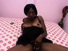 black-pregnant-slut-rides-fat-white-cock