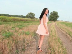gorgeous-hitchhiking-eurobabe-jizzed-on-boobs