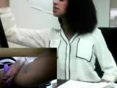 Indian Desi Teen Almost Caught Public Masturbation At Work