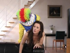 british-milf-pussyfucked-by-a-clown