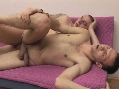 College Horny Gay Roommate Loves Bareback Sex