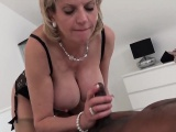 Cheating english mature gill ellis shows off her big tits