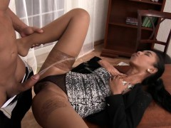 spunked-latina-peed-on