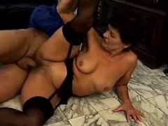 granny-in-stockings-rides-cock