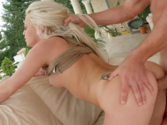 Anastasia Blonde getting a dick deep in ass for anal on Ass