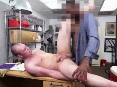 Big Black Cock Employer Gets His Cock Inside White Asshole