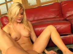 Gorgeous Laura Rides On A Big Schlong