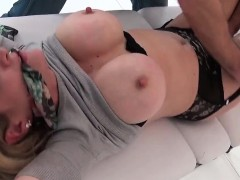Adulterous English Mature Lady Sonia Flashes Her Massive Bal