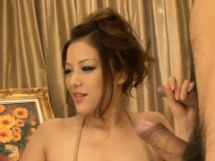 Oriental Babe With Biggest Hooters Enjoys Raucous Fucking