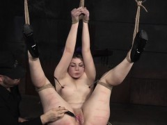 Bdsm Costume Sub Toyed And Spanked By Maledom