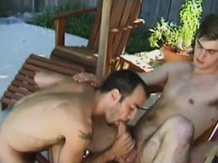 Backyard Blowjobs And Ass Fucking