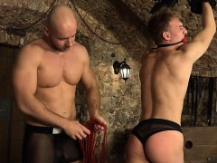 Hot Gay Spanking And Cumshot