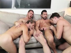 foursome-with-muscly-dudes-thats-out-of-this-world