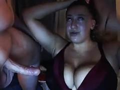 Chubby Teen Cock Suckin '