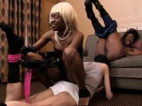 Mpenzi Barbie and Diamond Ortega 2 on 1 oral service