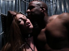 restrained-interracial-cunt-roughly-punished