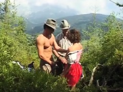 German Teen Loves Extreme Mountain Sex