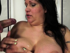 Anally Fucked Mature Gets Jizzed On Bigtits