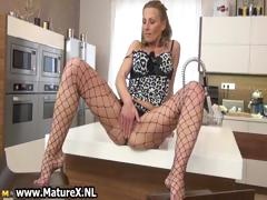 Sexy Mature Woman In Horny Lingerie Part4