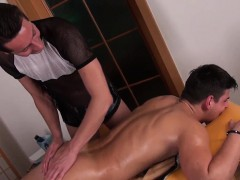 Twink Jerks And Cums While Being Massaged