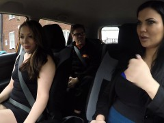 threesome-sex-in-fake-driving-school-car