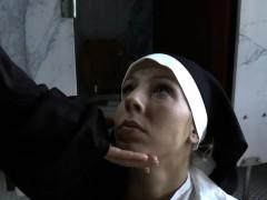 bossy nuns gagging bitch