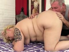 blonde-fatty-sex-massage