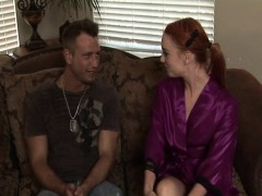 Petite Redhead Masseuse In Sixtynine Action