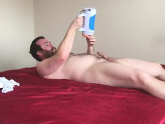 Lisey Sweet Facesitting Her Hairy Friend And Uses Autoblow 2