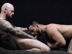 Raw pounded gay spermed