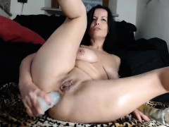 Jynx Maze Anal Fisting And Solo Masturbation In Public