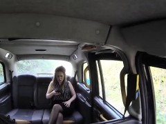 Big Tits Milf Rides Taxi Drivers Cock