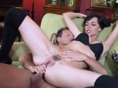 Young Harlots Head girl Franki is rewarded for her blow job