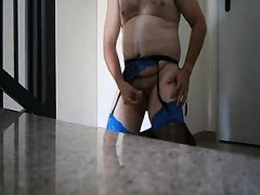 Two Crossdressers Amateur Pleasure