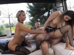 Stella Cox And Lara Onyx Ass To Mouth Session With Rocco