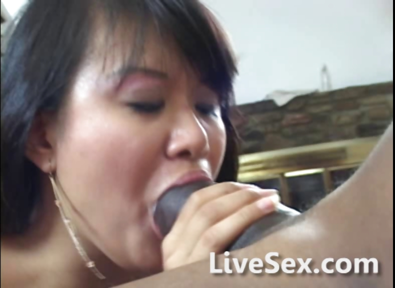 Tiny Asian Big Black Dick
