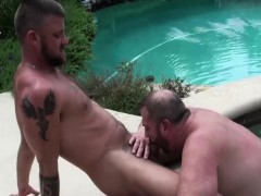 hot-and-fat-bear-gets-anal-raling-by-the-pool-outdoor