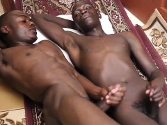 African barebacking close up amateurs