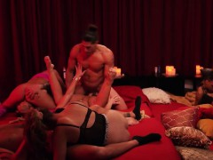 chubby-swinger-couple-enjoy-sex-with-other-couples