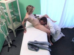 Doctor Filming Fuck With Blonde Patient