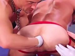Crazy Fist Fucking Gay Threesome