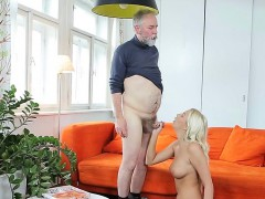 Hot Luscious Teen Is Fucking Aged Man