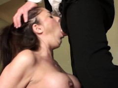 british-cum-swallowing-milf-roughly-throated