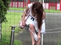 Asian Public Urinating