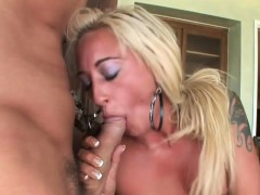 Blonde Teacher Loves Her Student's Cock