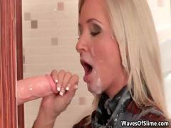 blonde-babe-gets-a-huge-bukkake-cum-part2