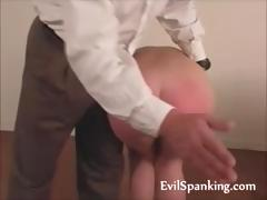 Cute Ass Red After Good Spanking