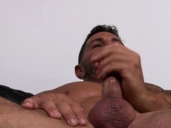 Black studs wanking their cocks
